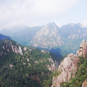 Huangshan Mountain i Kina