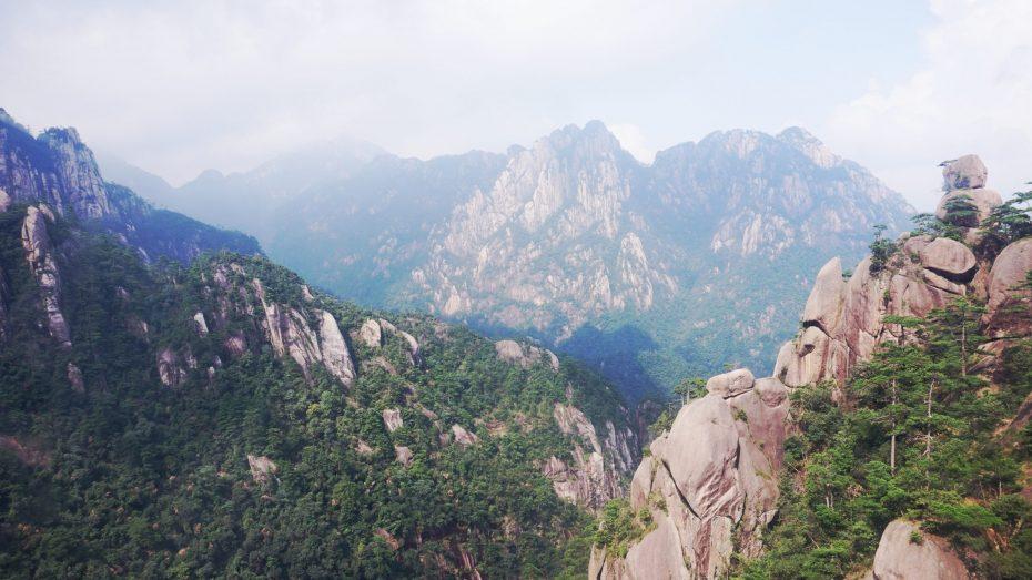 Huangshan Mountain i Kina
