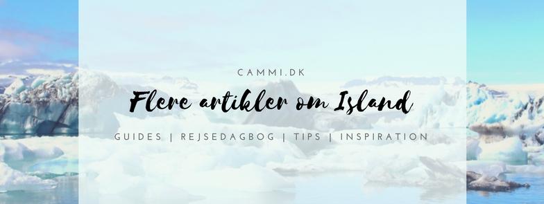 Rejseblog om at rejse til Island | Guides, rejsedagbog, tips og inspiration