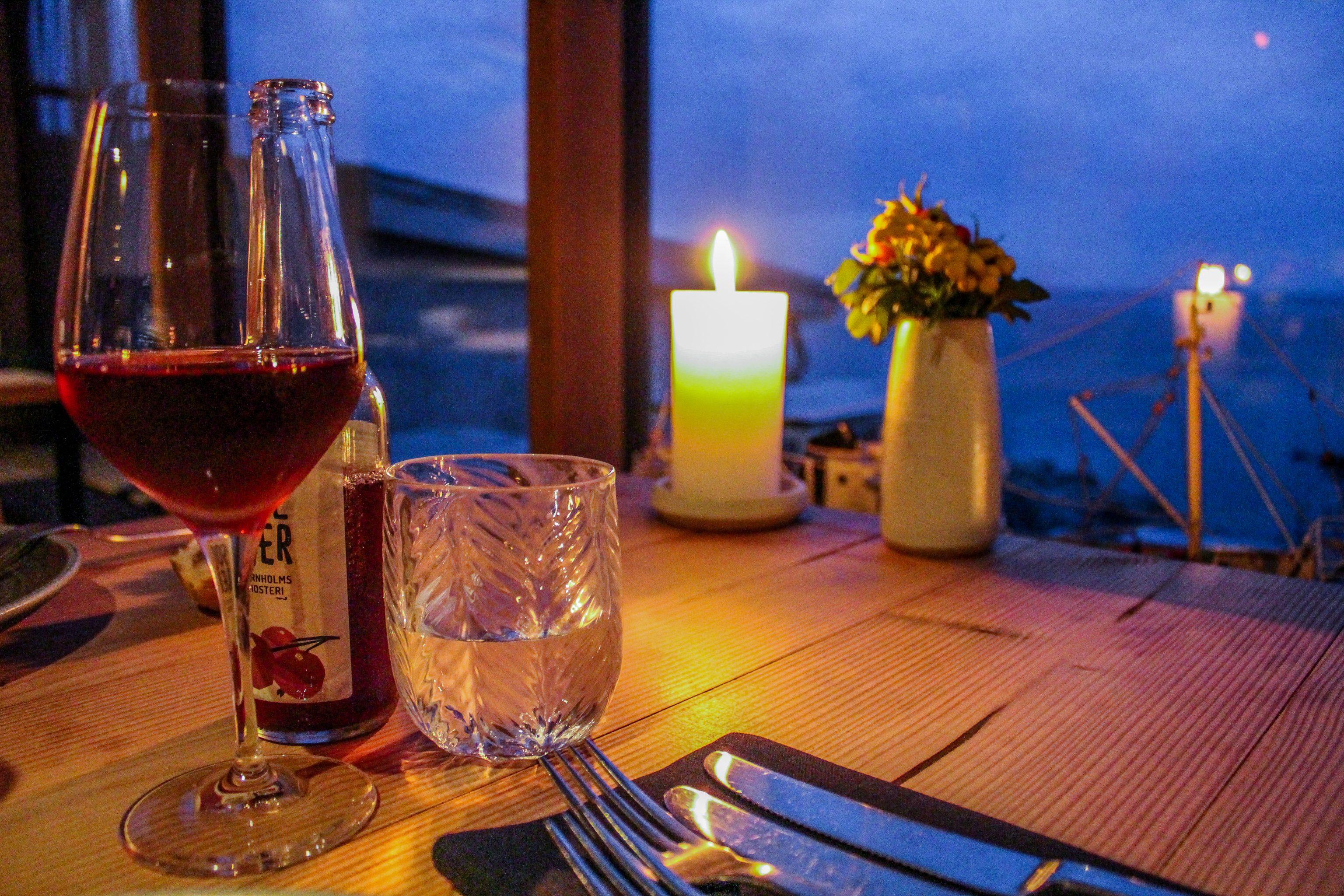 Restauranten på Hotel Nordlandet i Allinge er en ud af mange gode restauranter og spisesteder på Bornholm